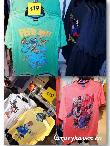 john little asda fashion label george characters tees