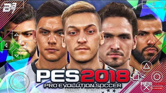 PES 2018 LITE 500MB PARA PPSSPP/PSP/PC/ANDROID