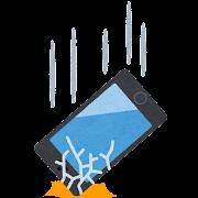 smartphone_otosu_wareru GalaxyS7シリーズ 画面割れ修理ならスマホスピタルまで♪♪