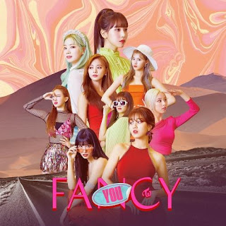yang betajuk FANCY YOU yang didistribusikan oleh label JYP Entertainment Lirik Lagu TWICE - Stuck In My Head dan Terjemahan