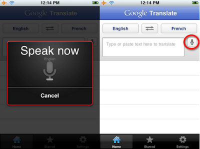 Nouvelle Mises à jour de l'application Google traduction pour IPhone ou iPod touch iOS