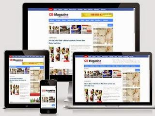 CB Magazine - Free News Site Blogger Template