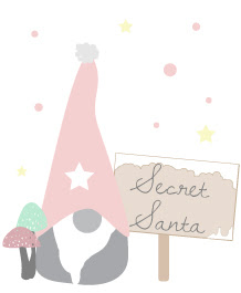 Secret santa 2015 λογοτυπο