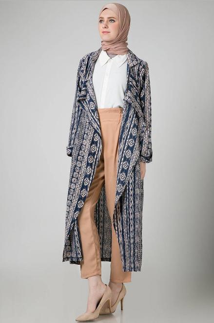 Busanamuslim 10 Koleksi Model Outer Batik Lengan Panjang Terbaik
