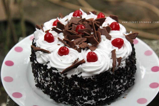 Mini Black Forest Cake On A Pan Recipe Book