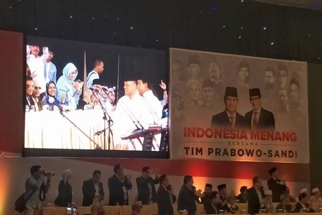 Ini 80 Nama Putra-Putri Terbaik Bangsa di Belakang Prabowo-Sandi