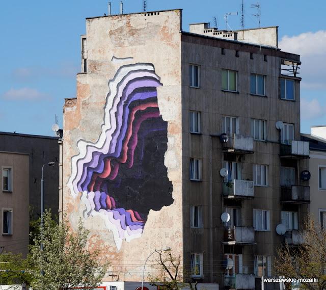 Warszawa murale warszawskie Praga Północ Targowa Warsaw detal