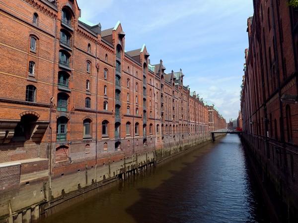 Hambourg Hamburg Speicherstadt Canaux Entrepôts