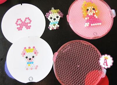 Детали из набора детской мозаики Beados