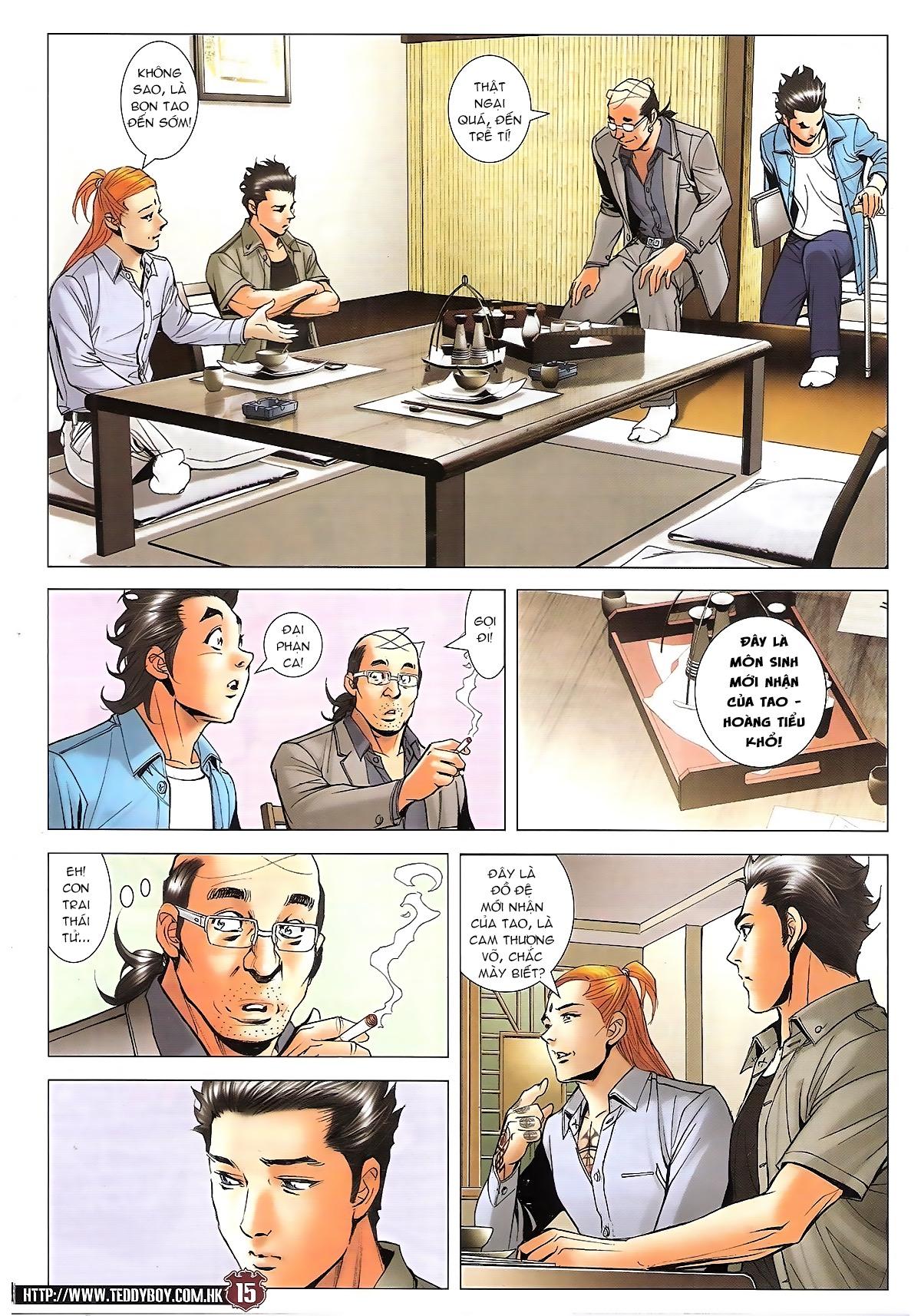 Người Trong Giang Hồ chapter 1746: đại phạn lên đĩa trang 12