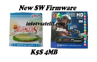 New SW Firmware K5S AVS 4MB type Wifi MT7601