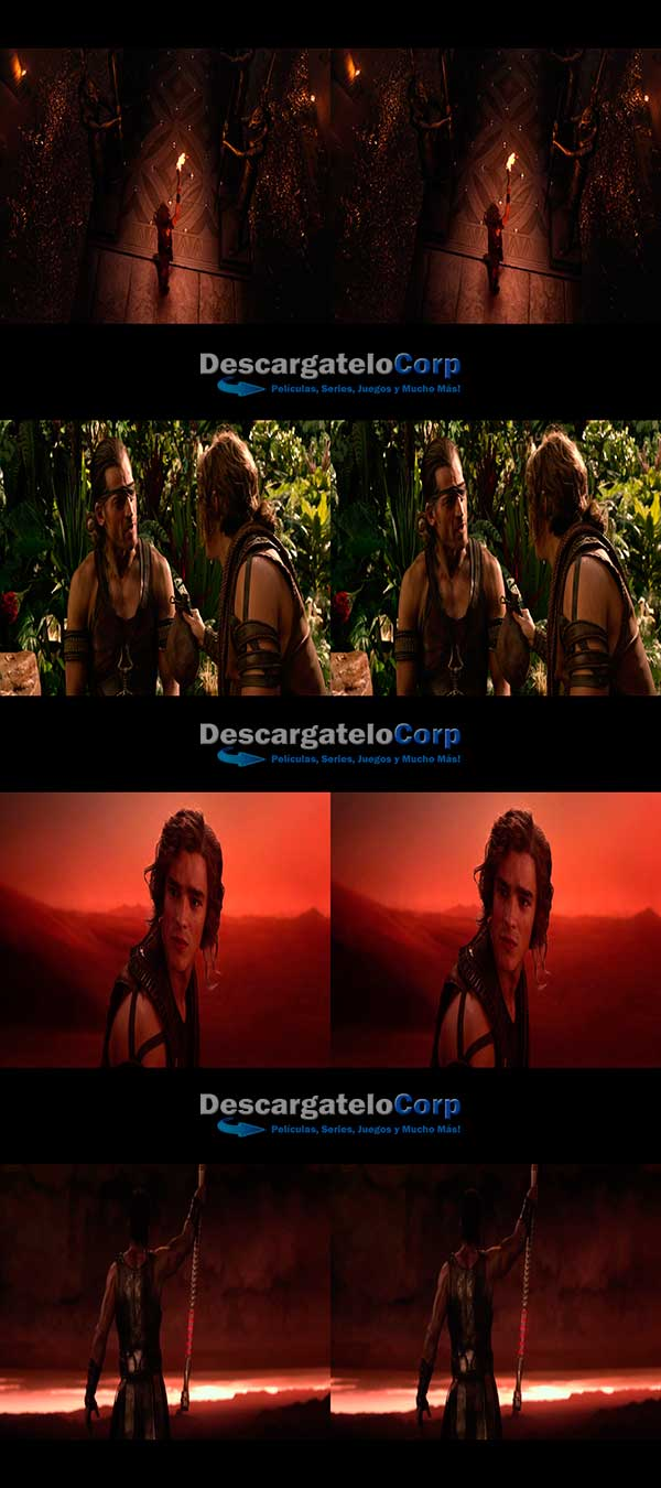 Gods of Egypt 3D SBS Latino