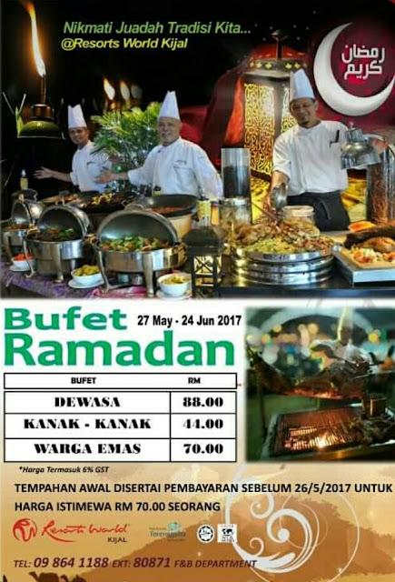 Senarai Buffet Ramadhan 2017 Di Terengganu
