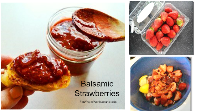 How to make balsamic strawberry photo collage