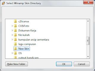 Gambar 5 - Cara Instal Skin Winamp Keren Terbaru!