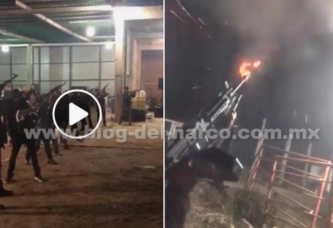 """""""Lluvia"""" de balas en Culiacán así recibieron el Año Nuevo los Sinaloenses"""