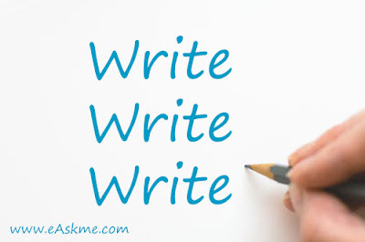 Write everyday: The Top Blogging Strategies For This Summer: eAskme