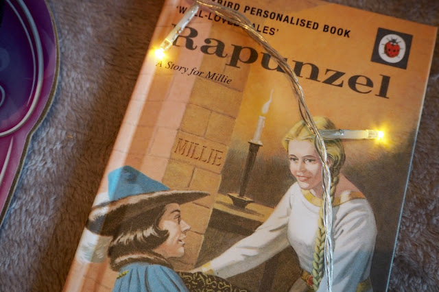 Personalised Rapunzel book