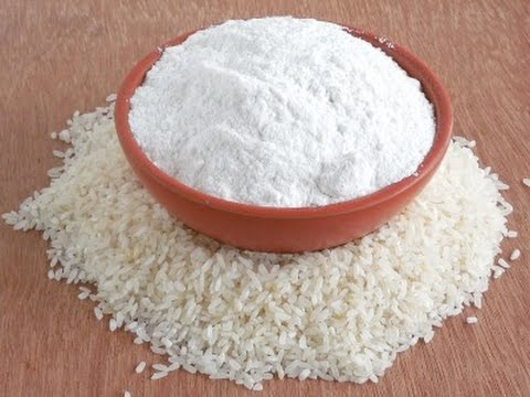Rice Powder - DIY - rice powder and curd