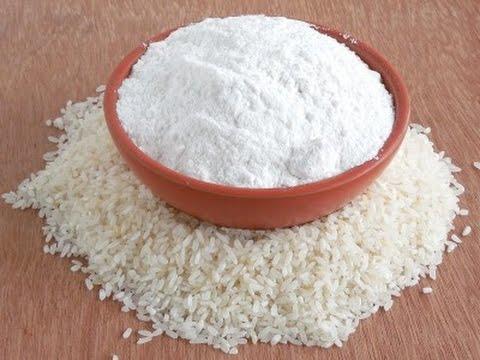 Rice Powder - DIY - rice powder and curd