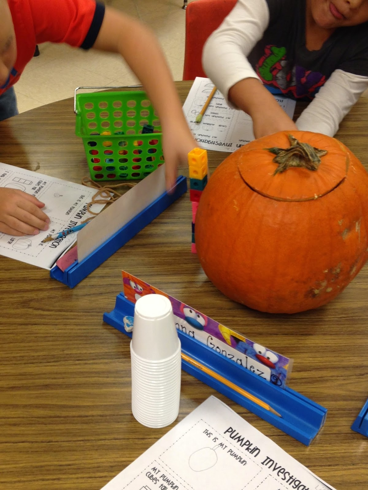 First Grade Mon Stars Crazy About Pumpkins