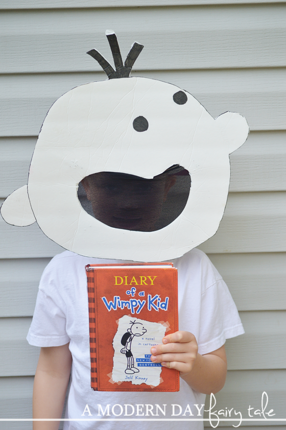 A modern day fairy tale have a crafty halloween a for Diary of a wimpy kid crafts