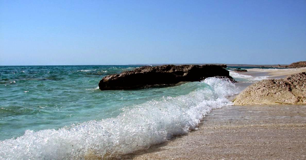 Mar Caspio y geologia