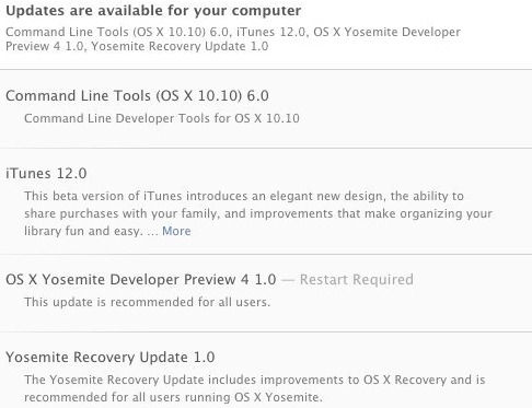 Download OS X Yosemite 10.10 Developer Preview 4 (14A298i)
