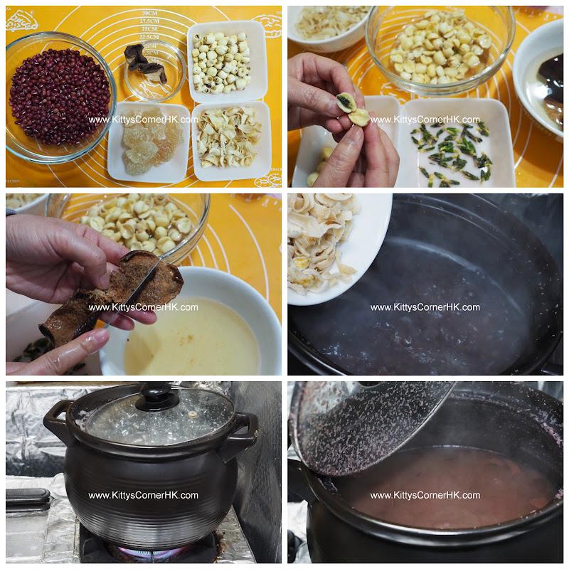 Red Bean Dessert DIY recipe 蓮子百合紅豆沙 自家食譜