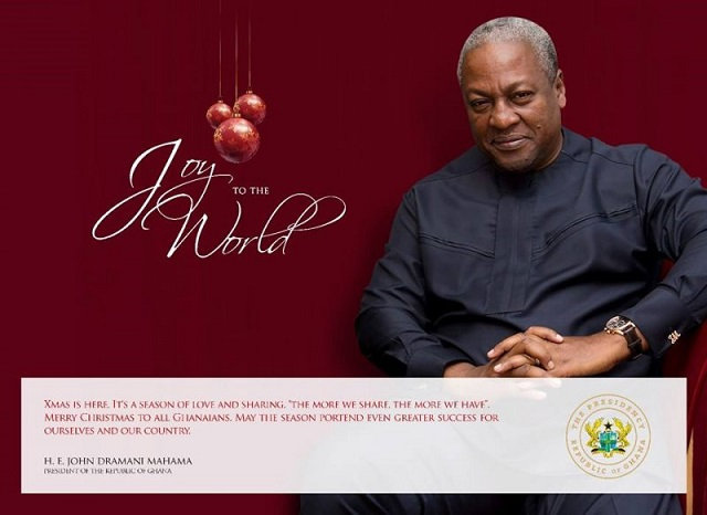 "May Ghana continue to be ""oasis of tranquility"" – Mahama"