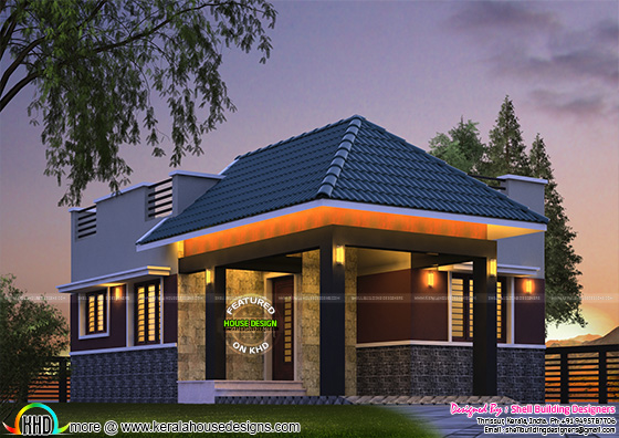 Tiny Kerala home design