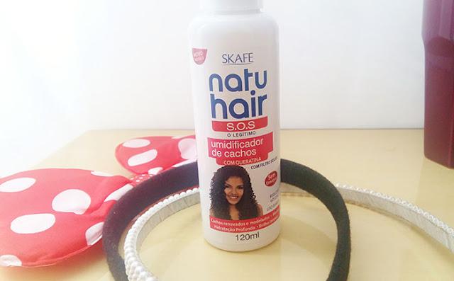 Resenha: Umidificador de cachos Natu hair - Skafe