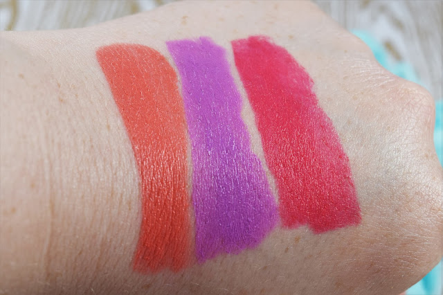Sleek MakeUP Whimsical Wonderland Lip VIP Lipstick Swatches