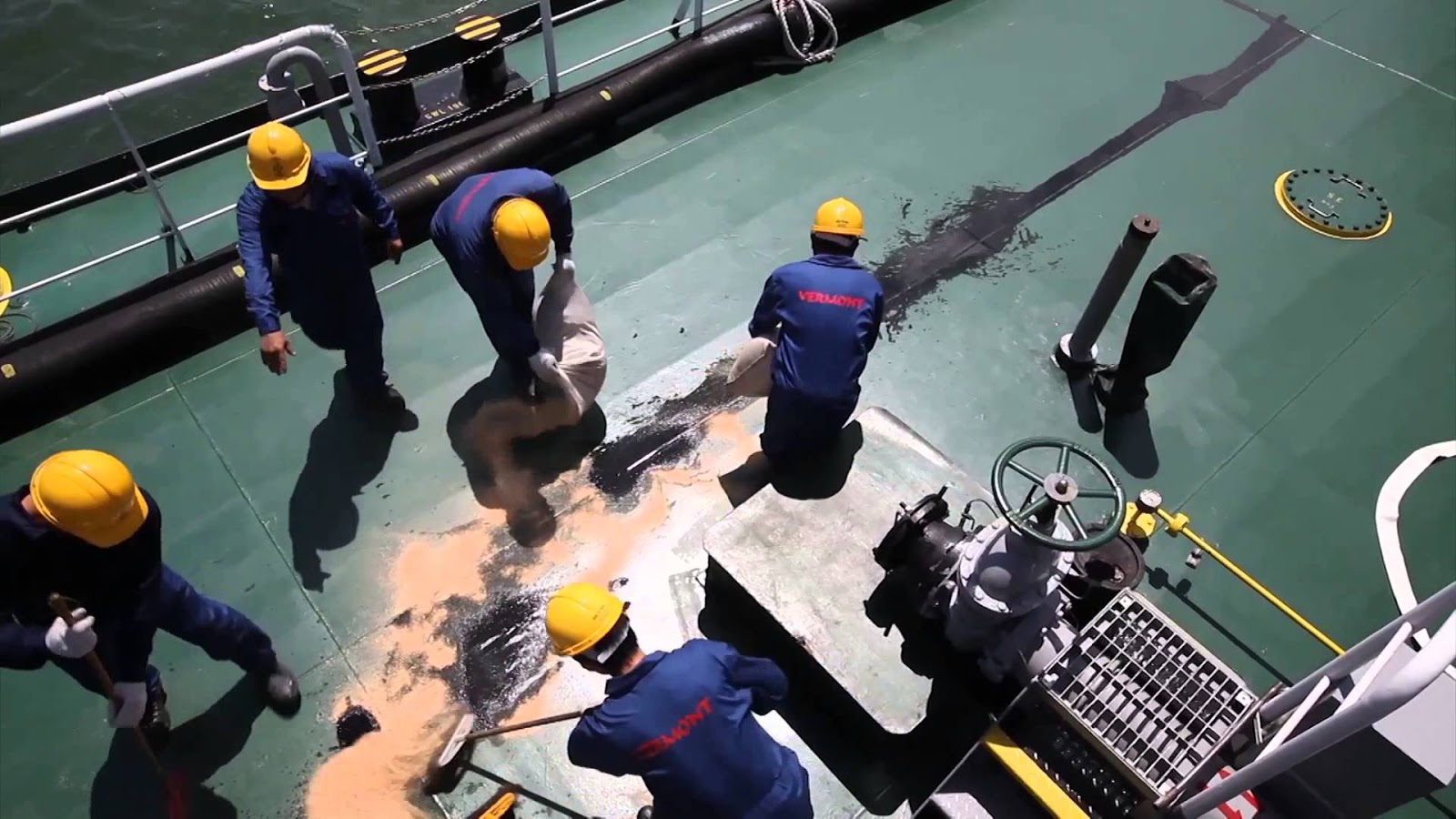 Procedure for Bunkering Operation on a Ship