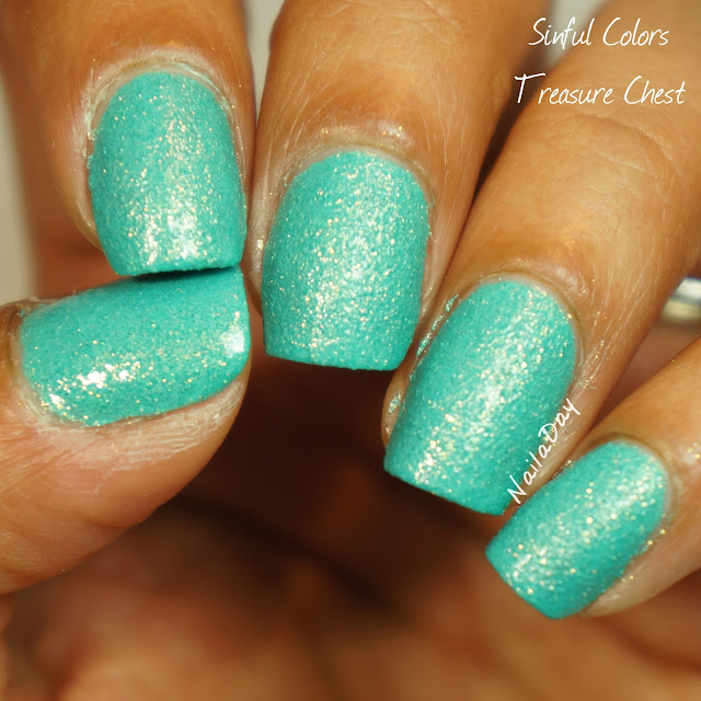 NailaDay: Sinful Colors Treasure Chest