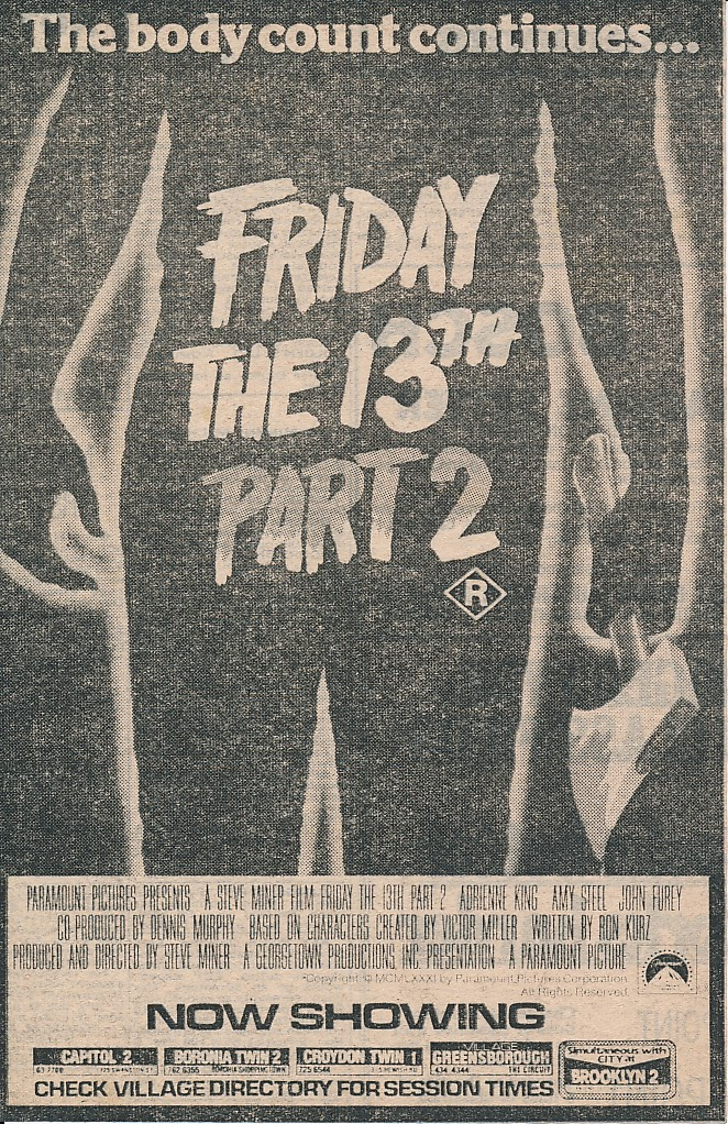 Happyotter Friday The 13th Part 2 1981