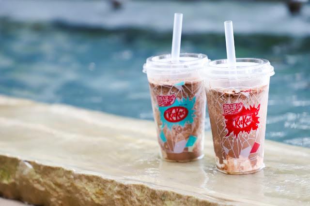 夏日炎炎 冰沙透心涼 雀巢奇巧KitKat巧克力變身全家酷繽沙 酷炫潮流新吃法 獨步全球限量上市 ~ 星光娛樂流行網