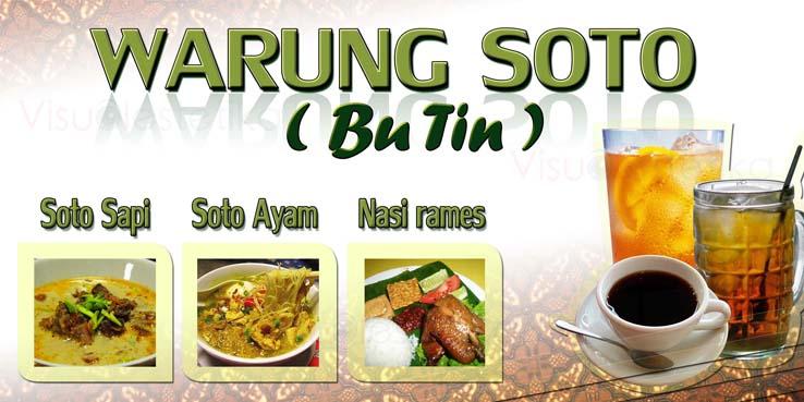 Visual Estetika Advertising Warung Soto Bu Tien 1