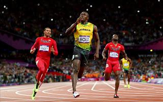 Usain Bolt world's fastest man and Olympic champion