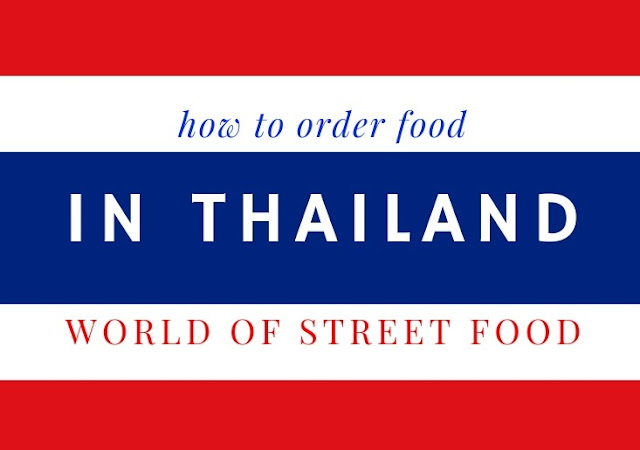how to order food in Thailand