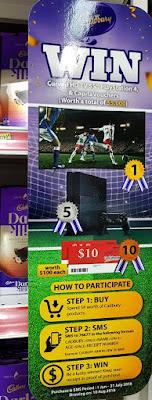 Cadbury's soccer promotion.