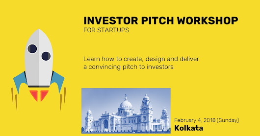 Startup Investor Pitch Workshop in Kolkata, India