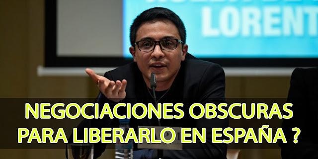 No se termina de aclarar el motivo por el que liberaron en España a Lorent Saleh