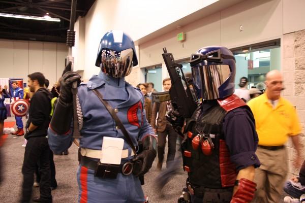 Cobra Commander cosplay