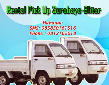 Rental Pick Up Zebra Surabaya-Blitar