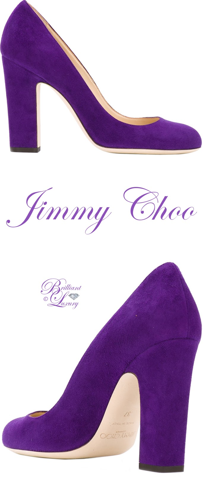 Brilliant Luxury ♦ Jimmy Choo Billy Pumps