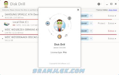 برنامج Disk Drill Pro 2018 لإستعادة الملفات المحذوفة كامل مجانا