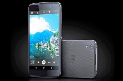 Now Blackberry use Android System