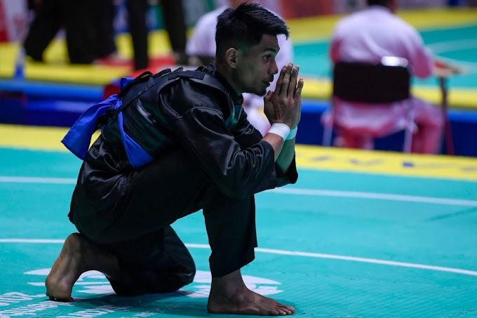 Pencak Silat | Mohd Al-Jufferi Jamari Mara ke Final Misi Menggenggam Emas Sukan Asia 2018