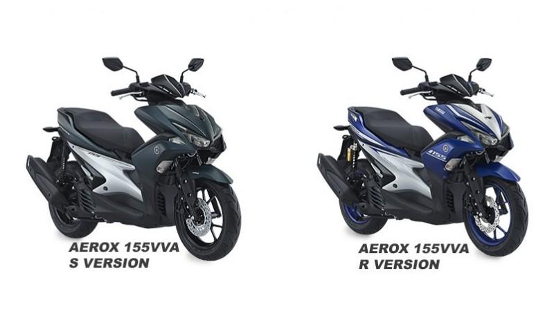 Yamaha Indonesia rilis Aerox 155VVA